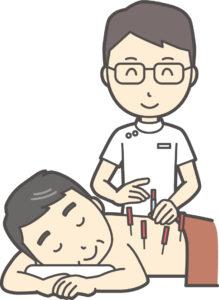 鍼灸師のイメージイラスト