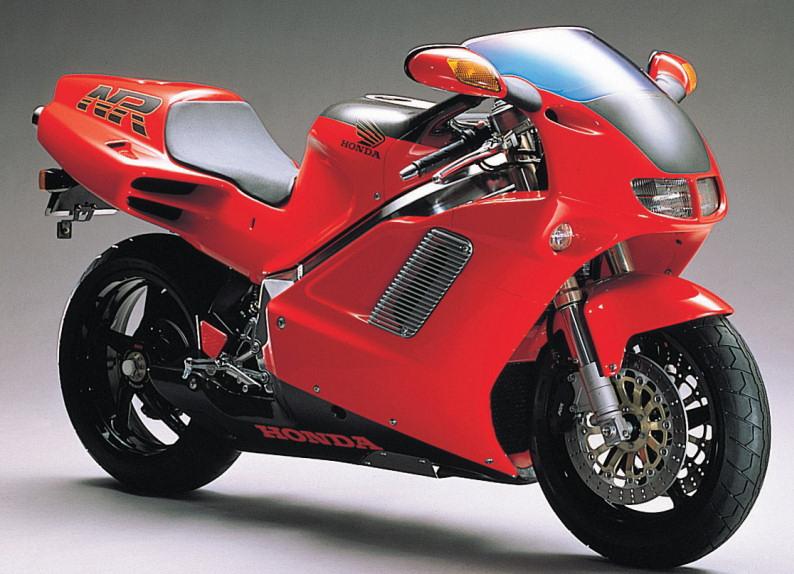 Honda NRの広報写真