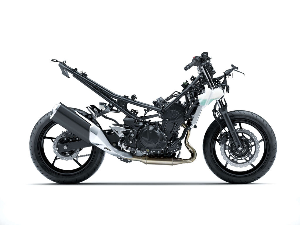 Ninja400ストリップ