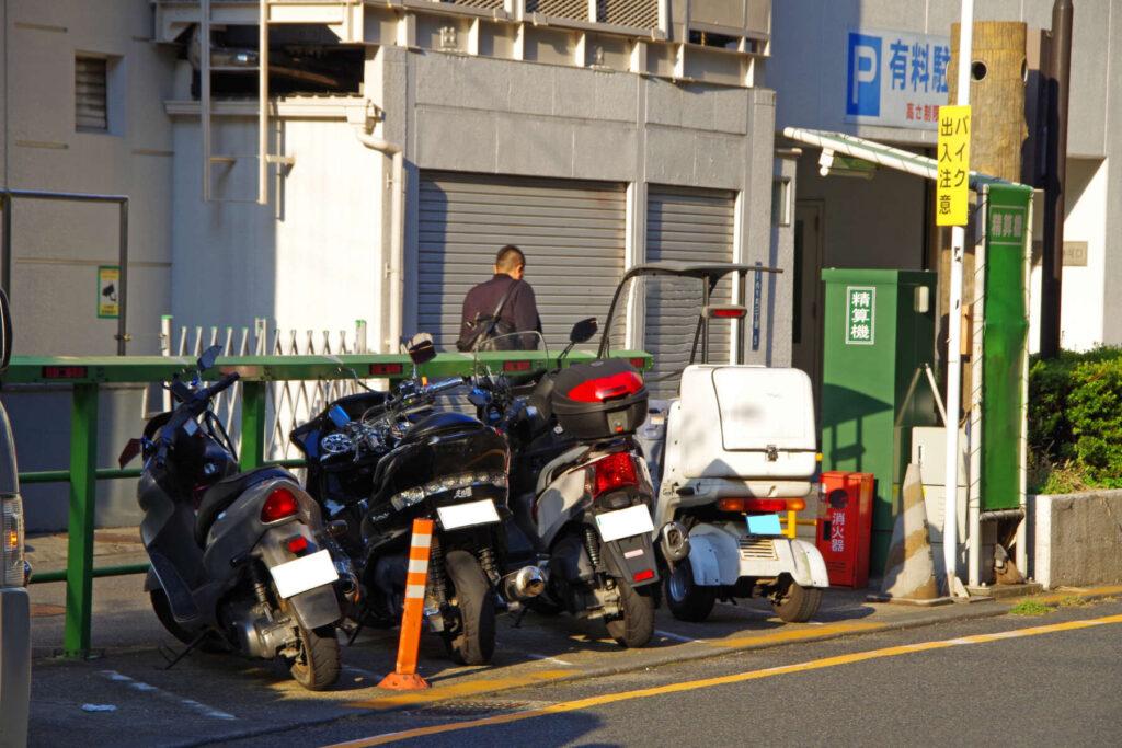 渋谷区あおい通り駐車場