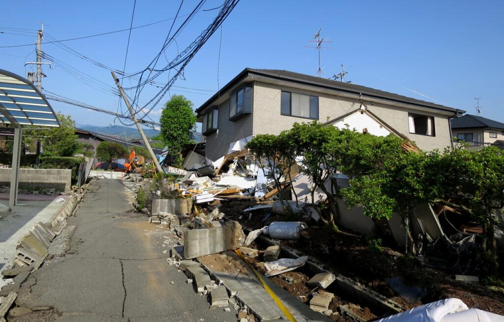 震災後の写真