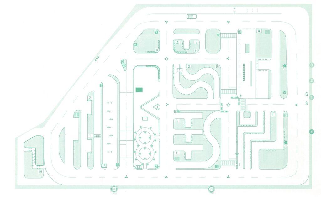 教習所のコース図