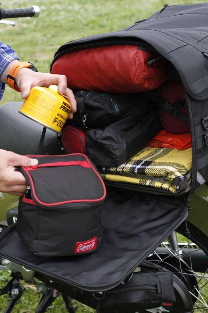 キャンプシートバッグシステムコンプリートセット(ポーチ付き)