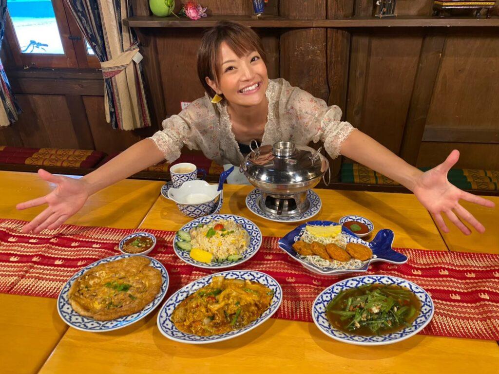 ナムチャイコース料理